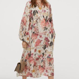 H&M | Mama Maternity Glittery Boho Dress Small